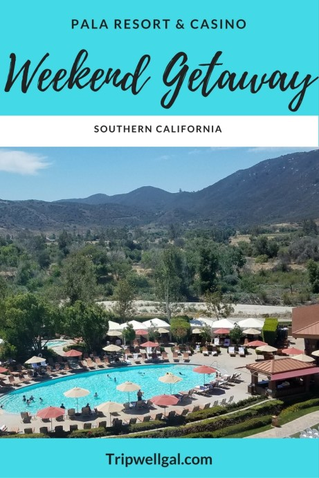 The closest casino at Pala is a great weekend getaway