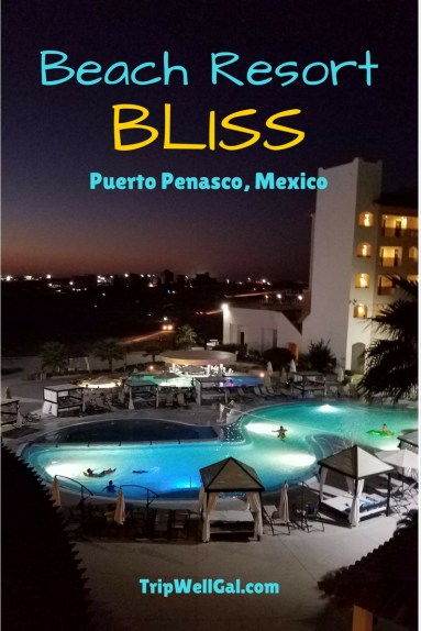 Beach Resort bliss inside the Penasco del Sol Hotel
