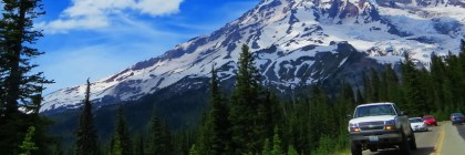 Road trip to Mount Rainier one of the US National Parks