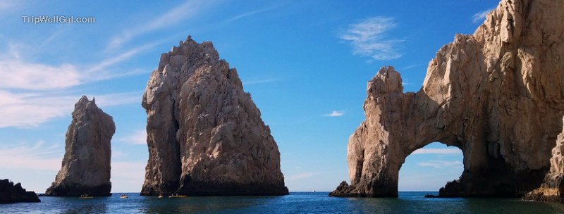 The famous Arches of Cabo San Lucas