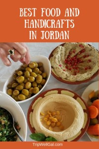 wherre to find the best village food and handicrafts in Jordan