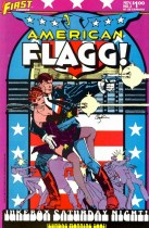 American Flagg #2 Dec 1983