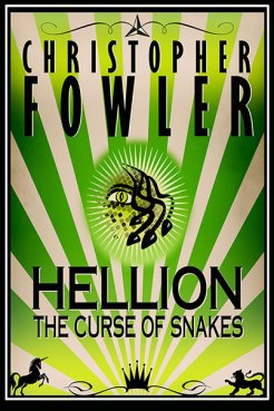 ebook cover to Hellion the Curse of Snakes