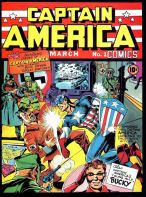 Captain America #1 March 1941