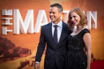 Matt Damon and Jessica Chastain©JamesGillham/StingMedia.co.uk