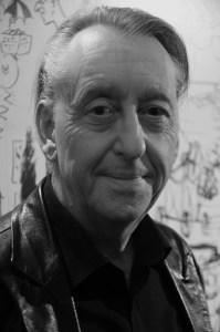 Bryan-Talbot-Grandville-Noel-launch-Cartoon-Museum-Bloomsbury-London-WC1-25th-Nov-2014-grey-pic#1