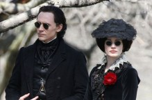 Thomas Sharpe (Hiddleston) and sister Lucille (Chastain)