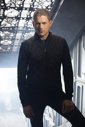 DC's Legends Of Tomorrow Pictured: Wentworth Miller as Leonard Snart/Captain Cold -- Photo: Brendan Meadows/The CW © 2015 The CW Network, LLC. All rights reserved.