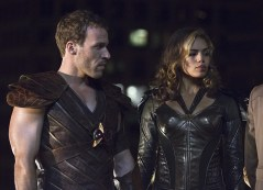 """DC's Legends of Tomorrow -- """"Pilot, Part 1"""" Pictured (L-R): Falk Hentschel as Carter Hall/Hawkman and Ciara Renee as Kendra Saunders/Hawkgirl -- Photo: Jeff Weddell/The CW © 2015 The CW Network, LLC. All Rights Reserved."""
