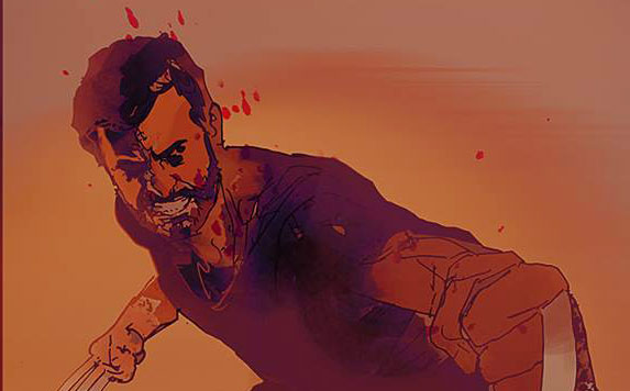 Roughs For New Variant Poster From Logan By Bill Sienkiewicz