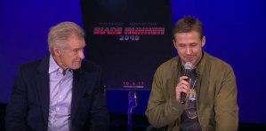 Ford, Villeneuve And Gosling Talks Blade Runner 2049