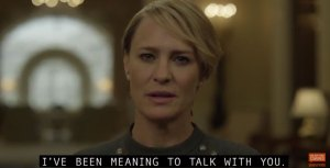 New Promo Video From House Of Cards Season 5