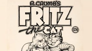 Robert Crumb Fritz The Cat Art Beats Auction Records