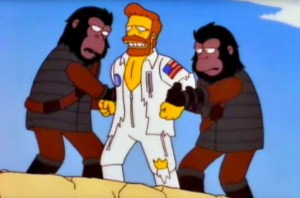 The Story Behind The Planet Of The Apes Musical Episode Of The Simpsons