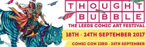 Full Programme Details For Thought Bubble 2017