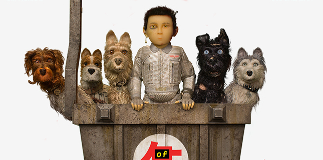 Watch The First Trailer For Wes Anderson's Isle Of Dogs Animated Movie