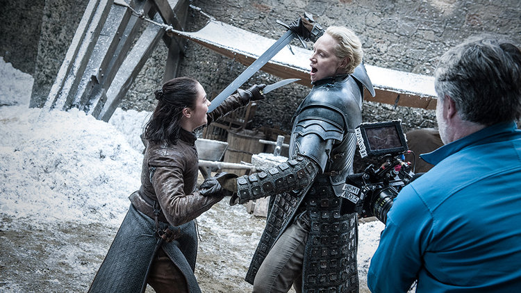 Go Behind The Scenes On Game Of Thrones The Spoils Of War