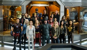 New Photos Hit From The CW DC TV Crossover