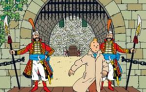 Rare Tintin Drawing Makes $500,000 At Auction