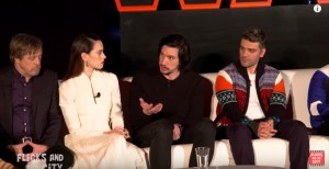 Watch Press Conference For Star Wars: The Last Jedi