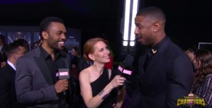 Watch The Red Carpet Premiere From Black Panther