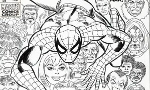 Original Cover Art For Amazing Spider-man 100 Up For Auction
