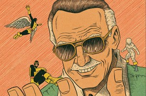 Ed Piskor Shows Off His Roughs For Stan Lee Variant For X-Men: Grand Design