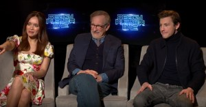 Steven Spielberg, Ernest Cline And The Cast Talk Ready Player One