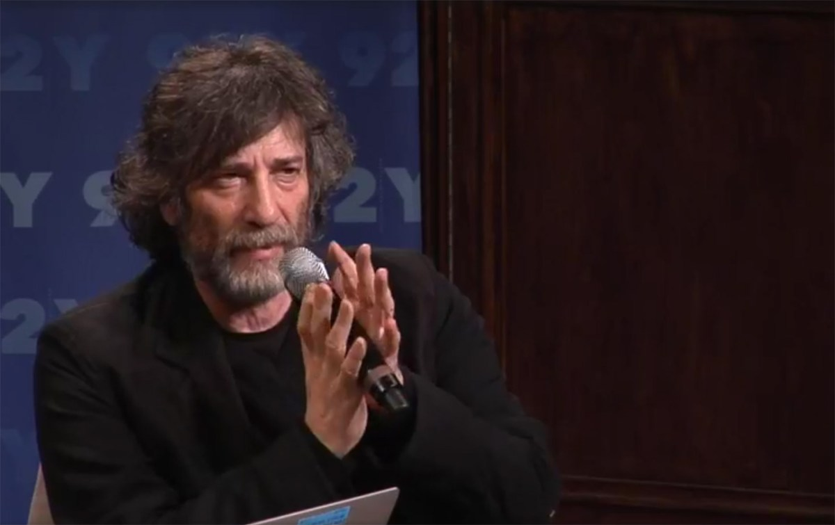 Neil Gaiman Speaks