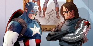 Marvel Reveals New Captain America #1 Variant Art by Paul Renaud, with Simon and Kirby