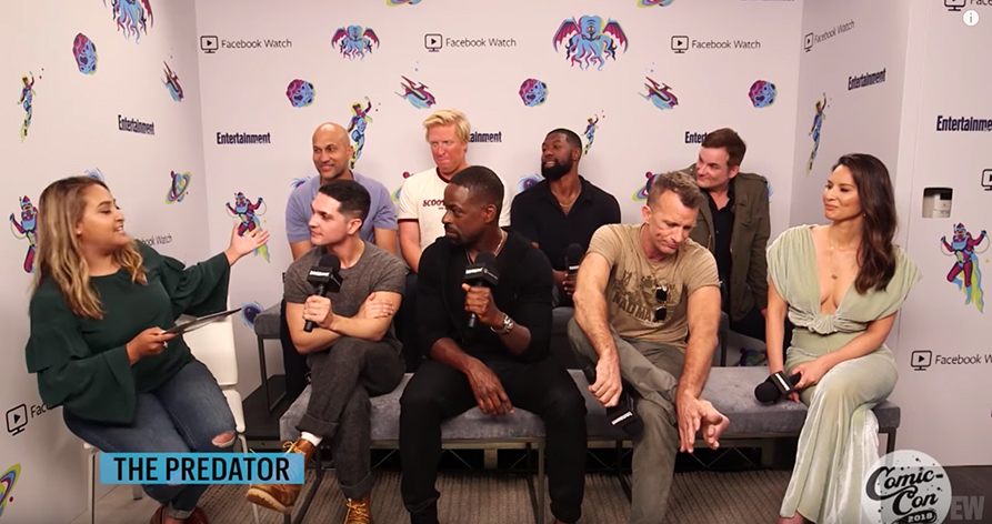 The Cast Talk About The Predator