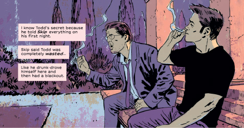 Tripwire Reviews Ed Brubaker And Sean Phillips' My Heroes Have Always Been Junkies OGN