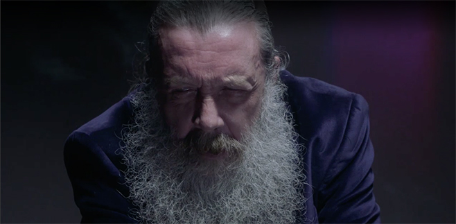 Go Inside Alan Moore's Head