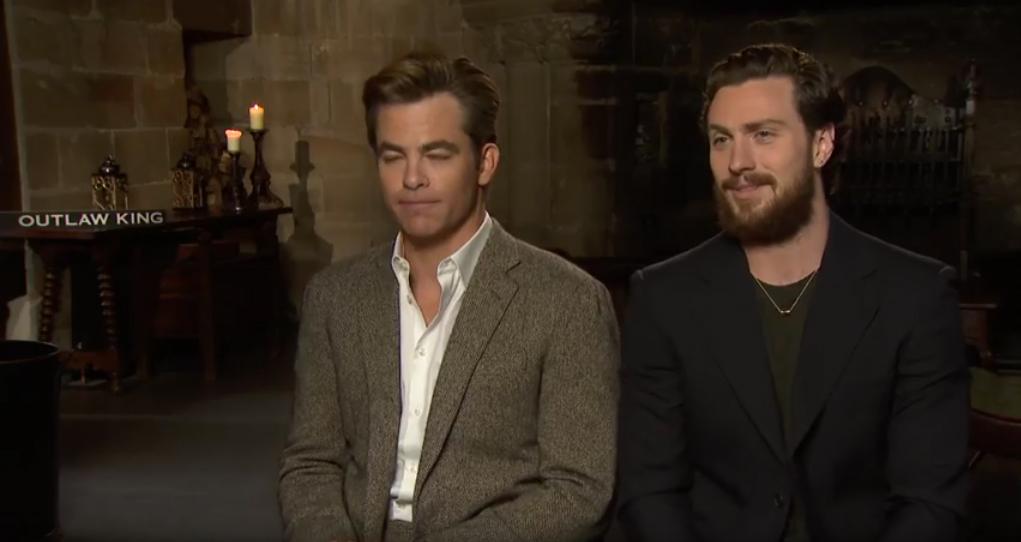 Chris Pine Talks Outlaw King Film