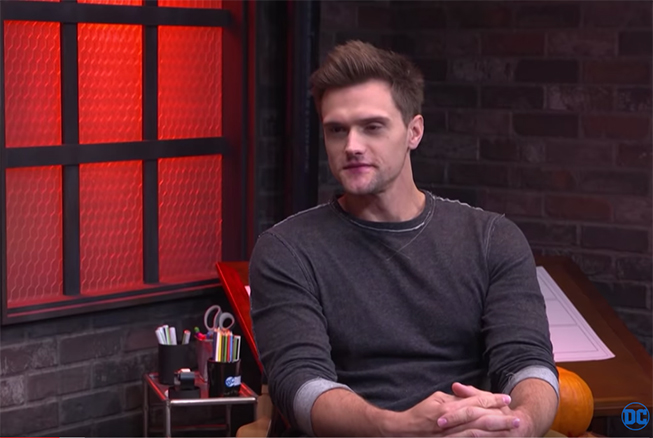 Hartley Sawyer Talks About Being The Elongated Man On CW's The Flash