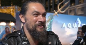 Jason Momoa Speaks At The Aquaman World Premiere In London
