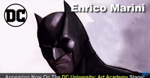 Watch Artist Enrico Marini At Work