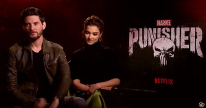 Ben Barnes and Amber Rose Revah Talk The Punisher Season Two