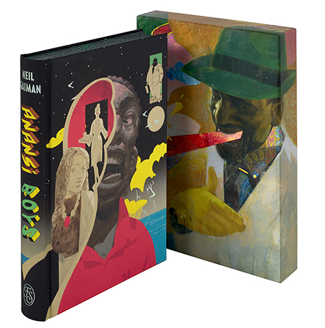 Tripwire Reviews The Folio Society's Neil Gaiman's Anansi Boys
