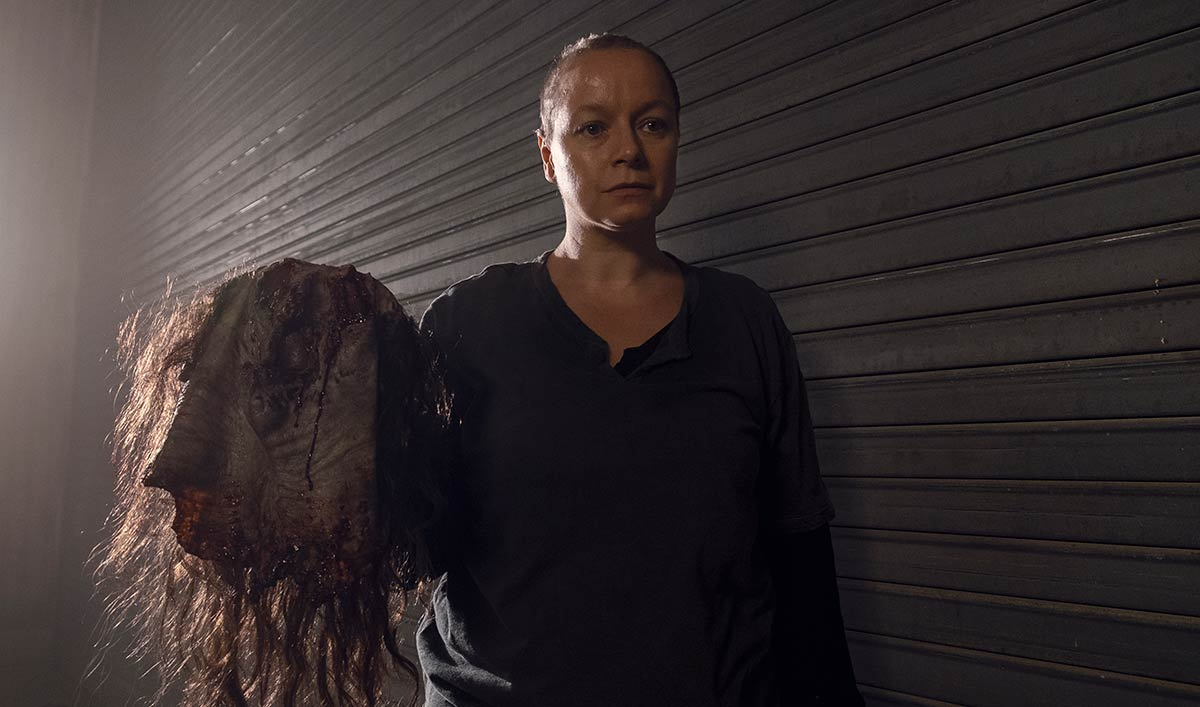 Samantha Morton Talks The Walking Dead