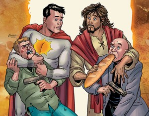 Controversial Second Coming Comic Series, Featuring Jesus Christ, Will Be Published by AHOY Comics This Summer