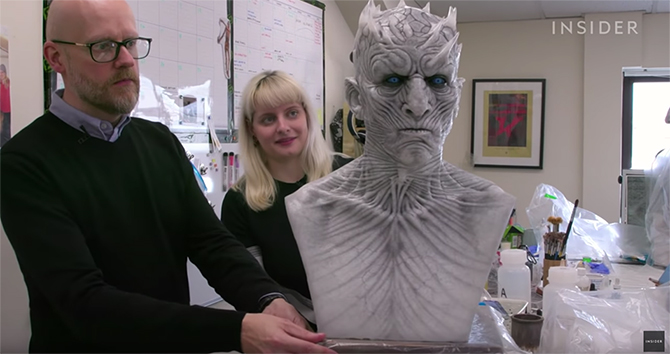 How The Prosthetics From Game Of Thrones Are Made