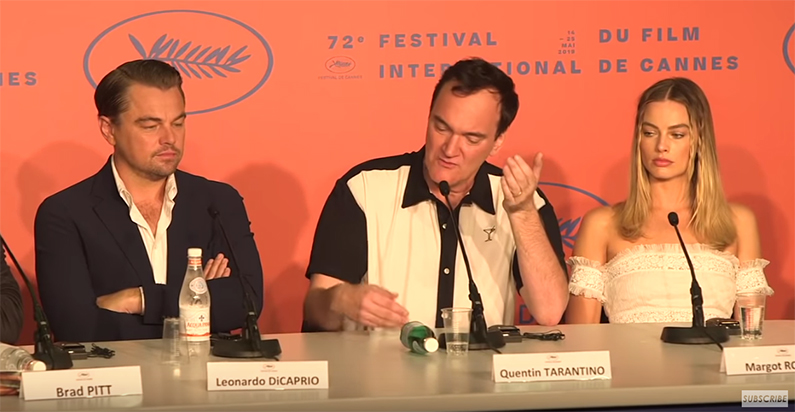 Watch The Press Conference For Tarantino's Once Upon A Time In Hollywood