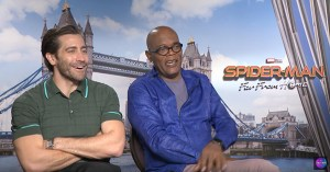 Samuel L Jackson And Jake Gyllenhaal Talk Spider-man: Far From Home