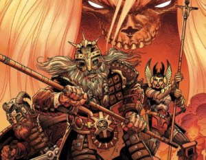Previewing Walter Simonson's Ragnarok: The Breaking Of Helheim#1
