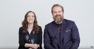 Stranger Things' Winona Ryder And David Harbour Answer The Web's Most Searched Questions