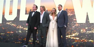 Check Out Highlights From The World Premiere Of Tarantino's Once Upon A Time In Hollywood