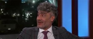Taika Waititi On Jojo Rabbit And The Next Thor Film To Jimmy Kimmel