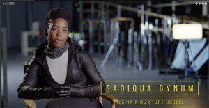 Meet Regina King's Stunt Double On HBO's Watchmen