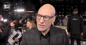 Patrick Stewart Talks Picard At The Red Carpet In London